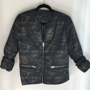 Generation Love Puffer Jacket in Camo